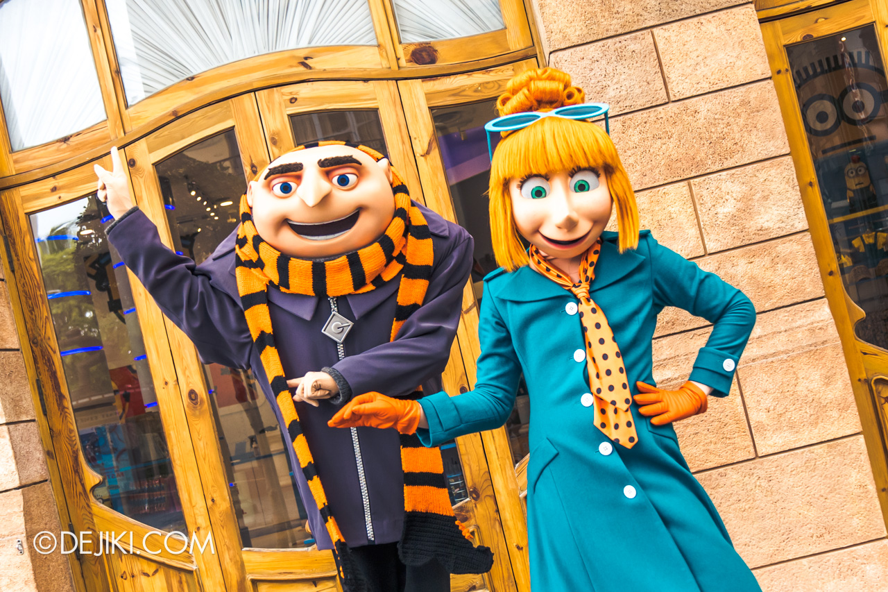 Universal Studios Singapore Park Update Sept 2020 Meet and Greet experiences Despicable Me Gru and Lucy