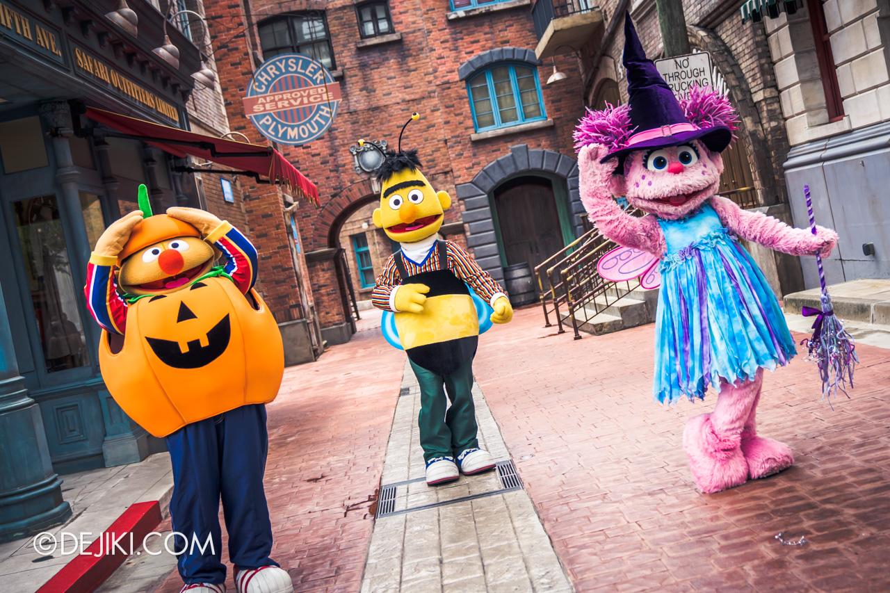Universal Studios Singapore Park Update Sept 2020 Meet and Greet experiences Sesame Street