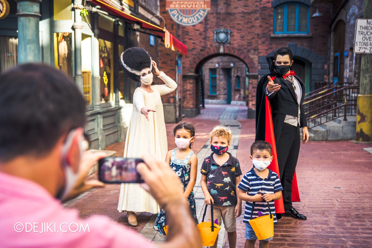 Universal Studios Singapore Park Update Sept 2020 Meet and Greet experiences Universal Monsters spot in New York