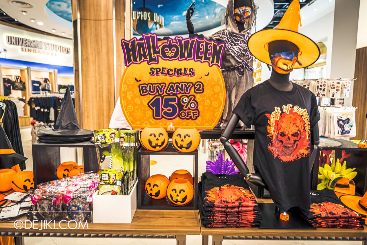 Universal Studios Singapore Park Update Sept 2020 Studio Store update Halloween goods