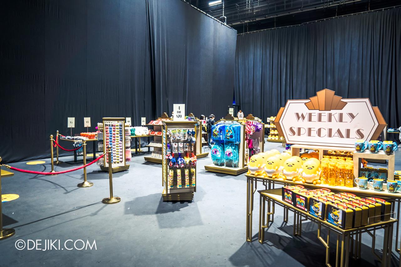 Universal Studios Singapore Park Update Sept 2020 USS Merchandise Sale at Soundstage 28