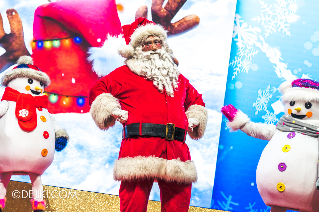 Universal Studios Singapore Park Update Dec 2020 Universal Christmas Meet and Greet Happy Holidays with Santa and Friends