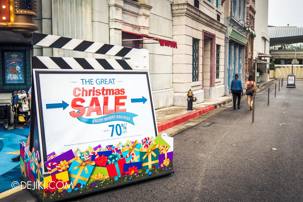 Universal Studios Singapore Park Update Dec 2020 Universal Christmas Soundstage 28 Sale