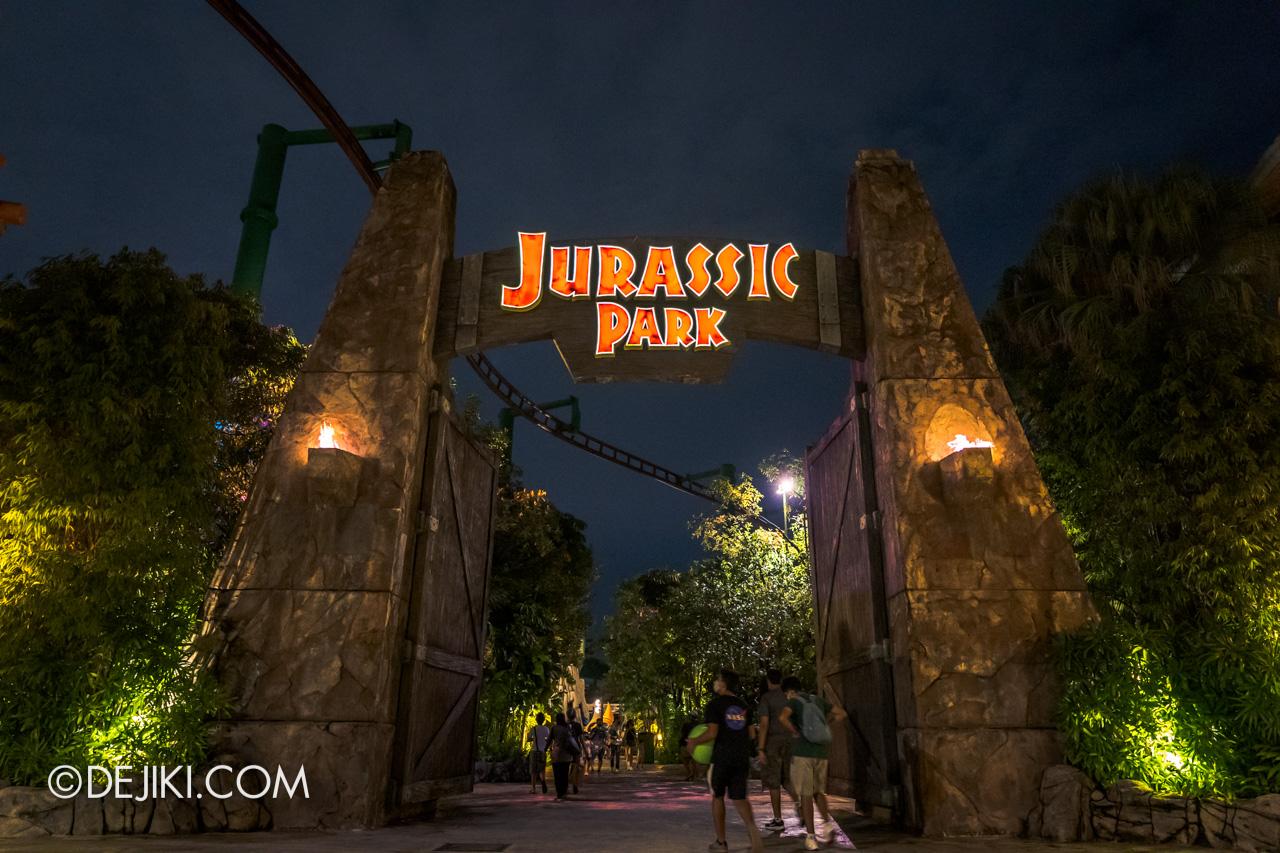 Universal Studios Singapore Park Update Dec 2020 Walkabout Jurassic Park