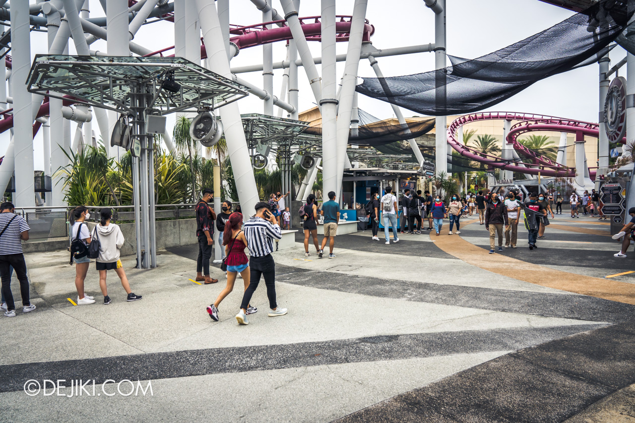 Universal Studios Singapore Park Update Jan 2021 Free Treat Redemption at Sci Fi City