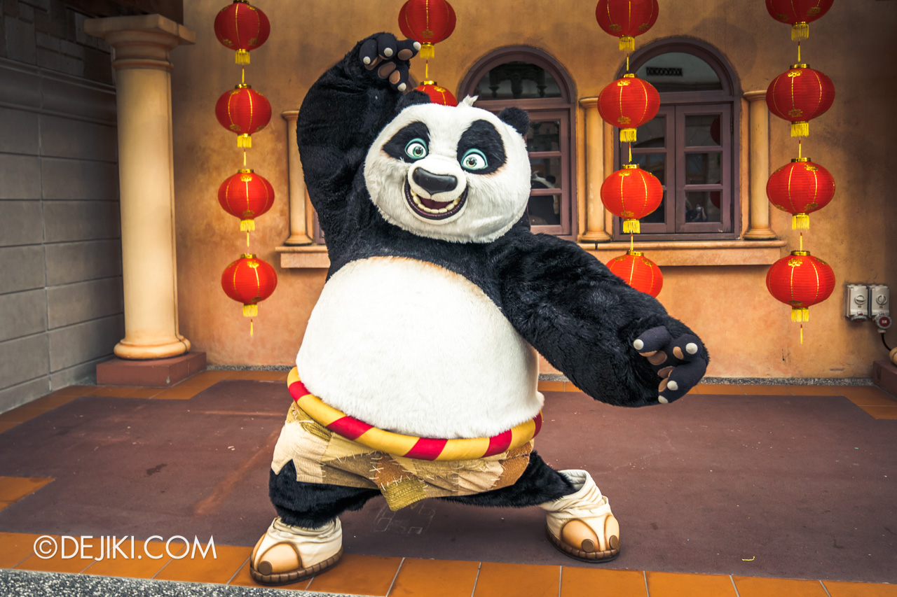 Universal Studios Singapore Park Update Jan 2021 Kung Fu Panda Po Meet and Greet