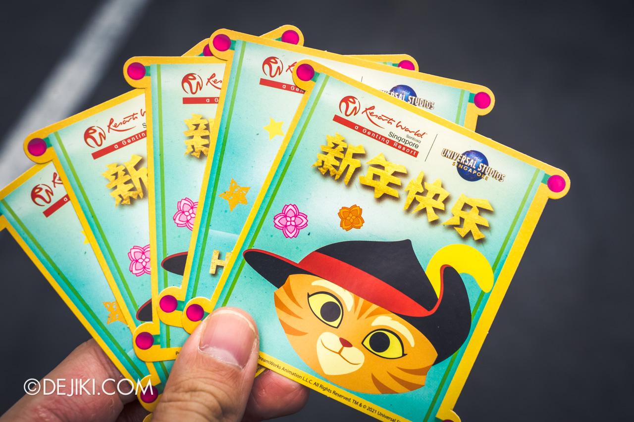 Universal Studios Singapore Park Update Jan 2021 Majestic Dragon Free Stickers