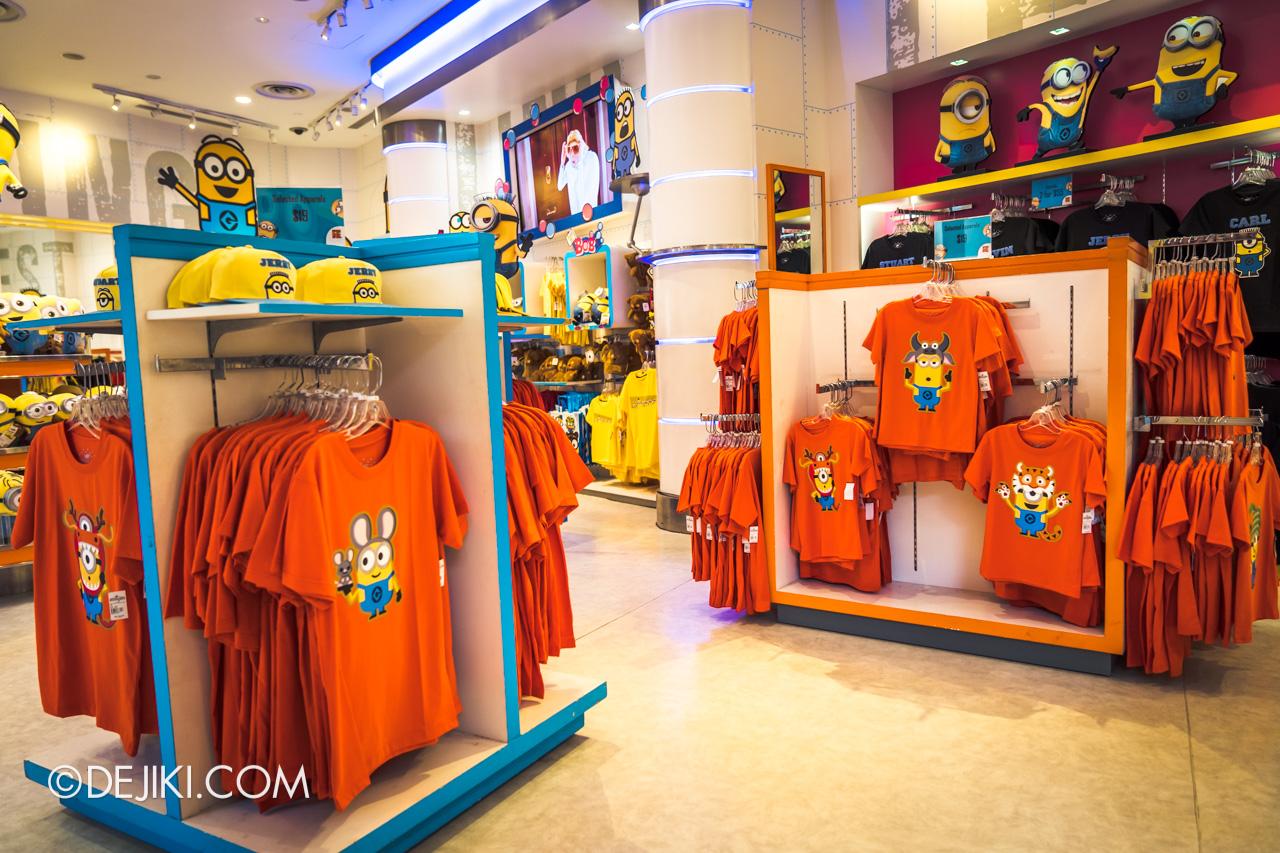 Universal Studios Singapore Park Update Jan 2021 Minion Mart Minion Zodiac