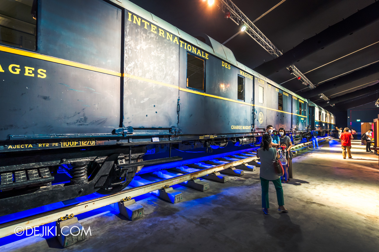 Orient Express Exhibition Singapore 11 train carriage photospots