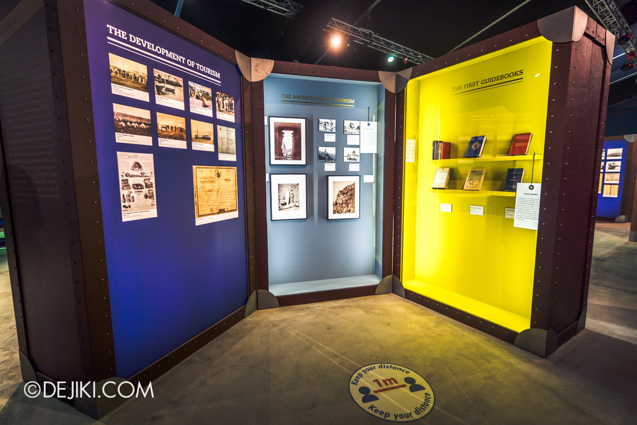 Orient Express Exhibition Singapore 12 travel tourist guides exhibits