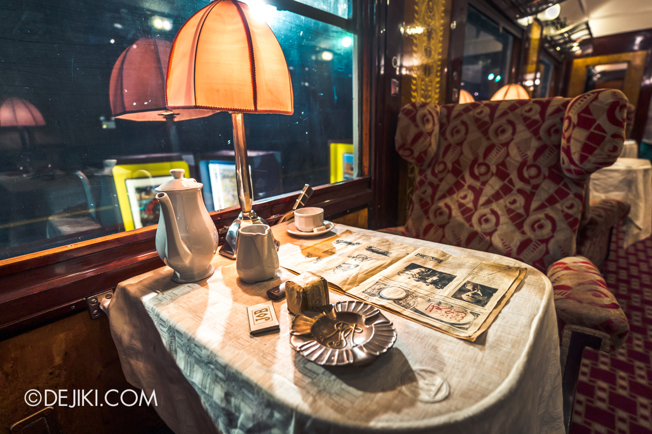 Orient Express Exhibition Singapore 2 First Class Cabin 1