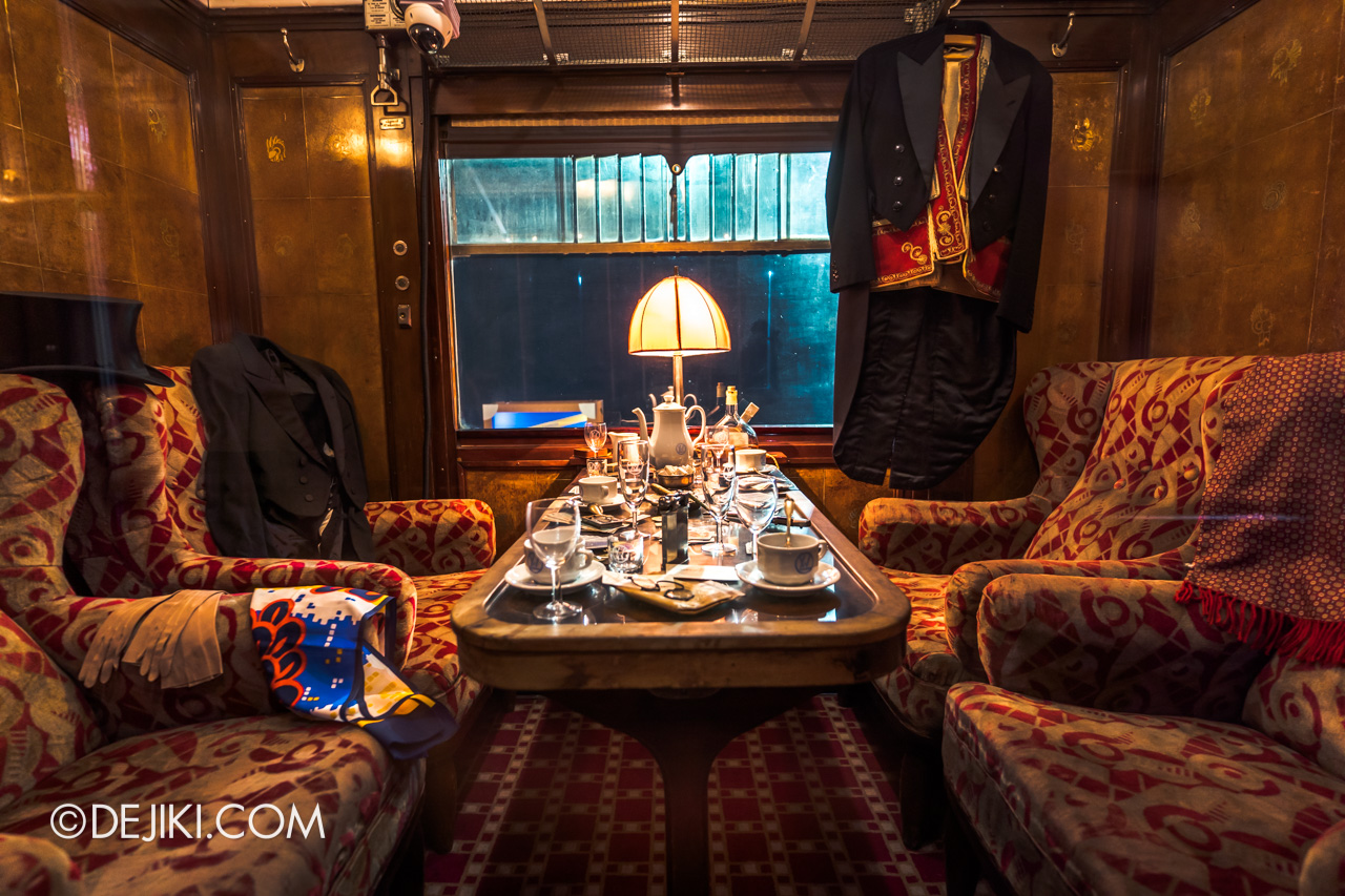 Orient Express Exhibition Singapore 2 First Class Cabin 8 private room