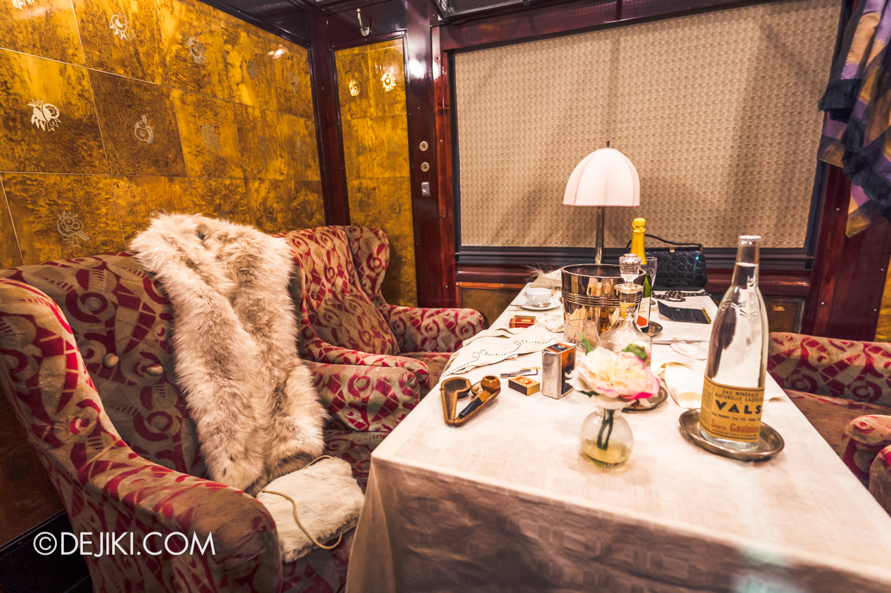 Orient Express Exhibition Singapore 2 First Class Cabin room