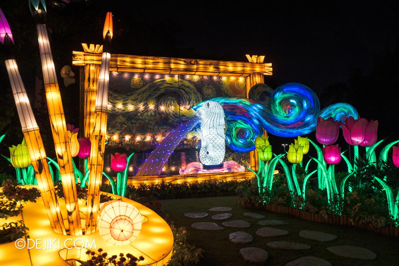 River Hongbao 2021 Lantern Display Colourful World