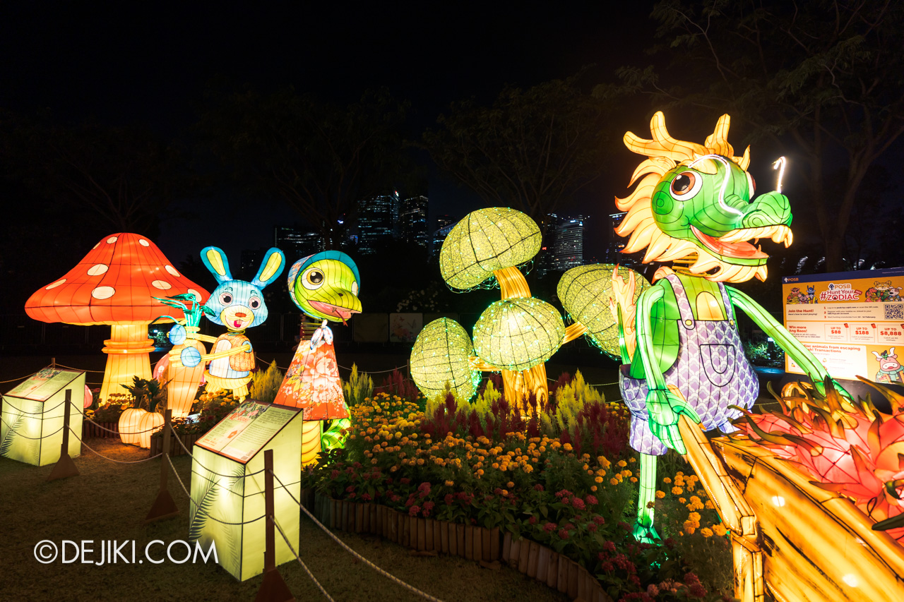 River Hongbao 2021 Lantern Display Zodiac Wishing Well 3