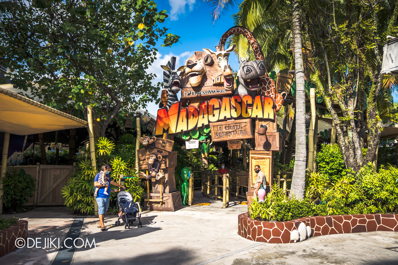 Universal Studios Singapore Park Update March 2021 Tropical Thrills Madagascar A Crate Adventure