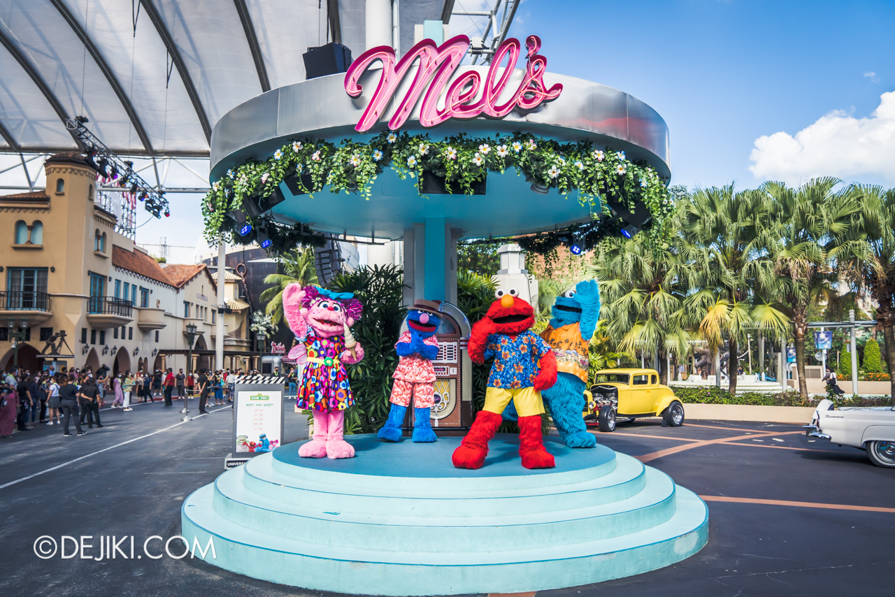 Universal Studios Singapore Park Update March 2021 Tropical Thrills Mels Stage Sesame Street Meet and Greet