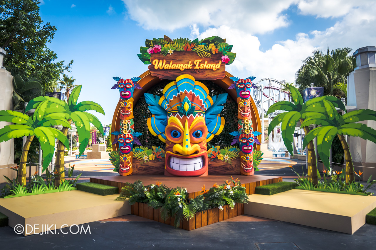 Universal Studios Singapore Park Update March 2021 Tropical Thrills Walamak Island King Kaluha