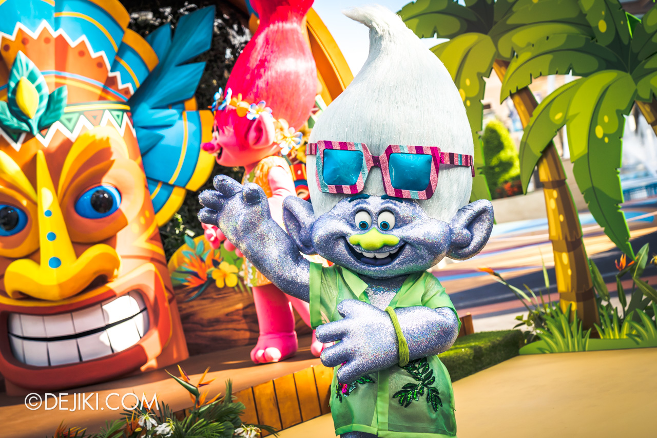 Universal Studios Singapore Park Update March 2021 Tropical Thrills Walamak Island Trolls Guy Diamond