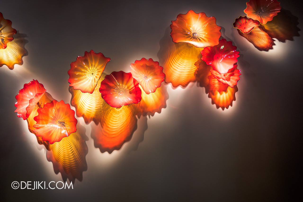Gardens by the Bay Dale Chihuly Glass in Bloom Gallery 5 Orange Persians